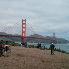 Biking from the City to Sausalito